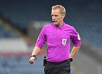 Referee Gavin Ward<br /> <br /> Photographer Dave Howarth/CameraSport<br /> <br /> The EFL Sky Bet League One - Rochdale v Hull City - Saturday 17th October 2020 - Spotland Stadium - Rochdale<br /> <br /> World Copyright © 2020 CameraSport. All rights reserved. 43 Linden Ave. Countesthorpe. Leicester. England. LE8 5PG - Tel: +44 (0) 116 277 4147 - admin@camerasport.com - www.camerasport.com