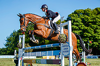 GBR-Rosalind Canter rides Izilot DHI during the Showjumping for the CCI-l 3* Section C. Final-1st. 2021 GBR-Saracen Horse Feeds Houghton International Horse Trials. Hougton Hall. Norfolk. England. Sunday 30 May 2021. Copyright Photo: Libby Law Photography