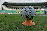 PALMIRA - COLOMBIA, 27-09-2020: Deportivo Cali y Alianza Petrolera en partido por la fecha 10 de la Liga BetPlay DIMAYOR I 2020 jugado en el estadio Deportivo Cali de la ciudad de Palmira. / Deportivo Cali and Alianza Petrolera in match for the date 10 as part of BetPlay DIMAYOR League I 2020 played at Deportivo Cali stadium in Palmira city.  Photo: VizzorImage / Gabriel Aponte / Staff