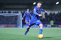 Callum Camps (Rochdale AFC) during the Sky Bet League 1 match between Rochdale and Plymouth Argyle at Spotland Stadium, Rochdale, England on 15 December 2018. Photo by James  Gill / PRiME Media Images.