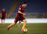 Calcio, Serie A: Roma vs Cagliari, Roma, stadio Olimpico, 22 gennaio 2017.<br /> Roma's Diego Perotti in action during the Italian Serie A football match between Roma and Cagliari at Rome's Olympic stadium, 22 January 2017. <br /> UPDATE IMAGES PRESS/Isabella Bonotto