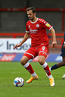 Jack Powell of Crawley Town during Crawley Town vs Morecambe, Sky Bet EFL League 2 Football at Broadfield Stadium on 17th October 2020