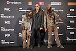 The Walking Dead: 6th Season presentation in Madrid, Spain. February 23, 2016. (ALTERPHOTOS/Victor Blanco)