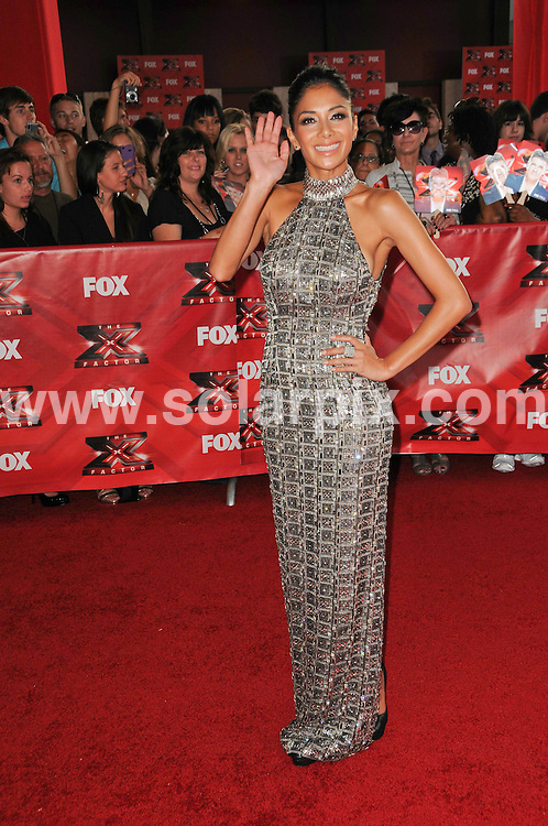 """**ALL ROUND PICTURES FROM SOLARPIX.COM**                                             **SYNDICATION RIGHTS FOR UK, AUSTRALIA, DENMARK, PORTUGAL, S. AFRICA, SPAIN & DUBAI (U.A.E) & ASIA (EXCLUDING JAPAN) ONLY**                                                                                  Caption: FOX's """"The X Factor"""" World Premiere Screening at the Arclight Cineama Dome in Hollywood ,CA, USA                                                                              This pic: Nicole Scherzinger                                                                                             JOB REF:13947        PHZ       DATE: 14.09.2011                                                           **MUST CREDIT SOLARPIX.COM OR DOUBLE FEE WILL BE CHARGED**                                                                      **MUST AGREE FEE BEFORE ONLINE USAGE**                               **CALL US ON: +34 952 811 768 or LOW RATE FROM UK 0844 617 7637**"""