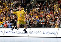 Die Leipzigerinnen gewannen auch das zweite Spiel der Gruppenphase in der Champions League. Im Bild: Natalie Augsburg. Foto: Ines Christ