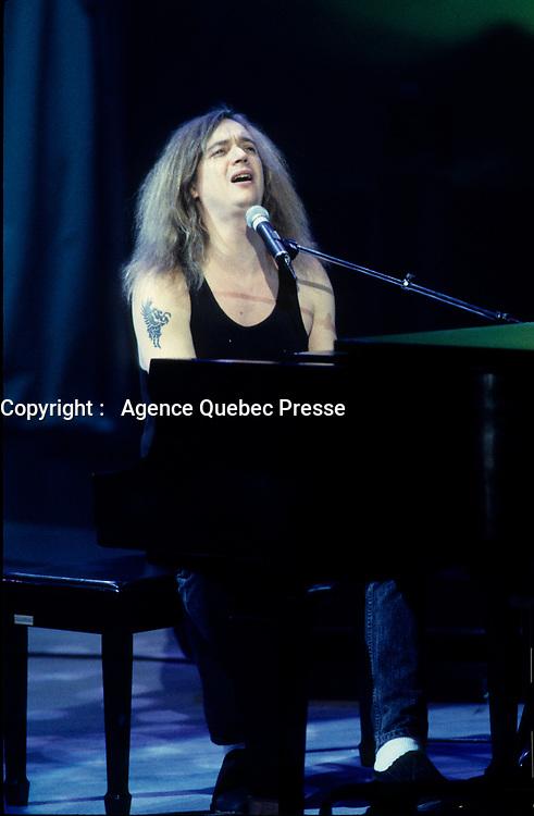 circa 1993 file photo Montreal (Qc) CANADA  - Dan Bigras