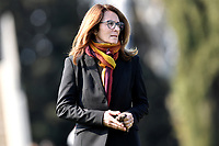 AS Roma coach Elisabetta Bavagnoli looks on prior to the Women Italy cup round of 8 second leg match between AS Roma and Roma Calcio Femminile at stadio delle tre fontane, Roma, February 20, 2019 <br /> Foto Andrea Staccioli / Insidefoto