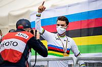 Picture by Alex Whitehead/SWpix.com - 24-27/09/2020 - Cycling - 2020 UCI Road World Championships - Imola, Emilia-Romagna, Italy - The Brief. - SANTINI