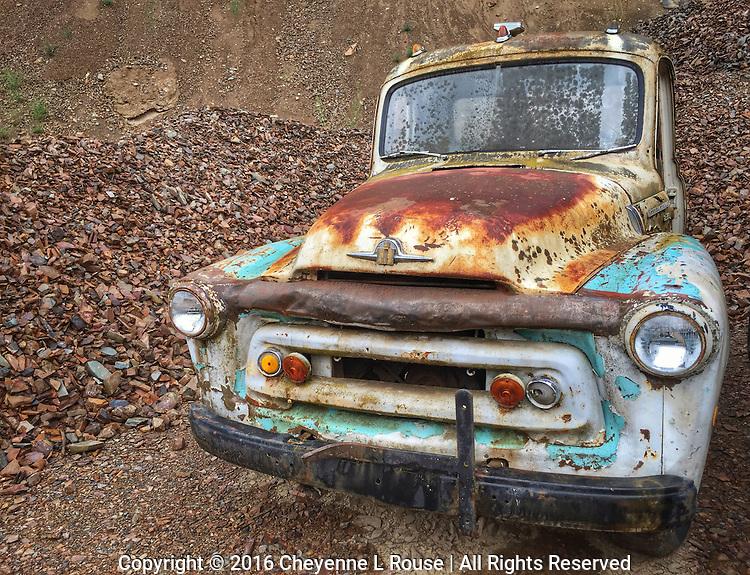 Gravel Pit International Truck