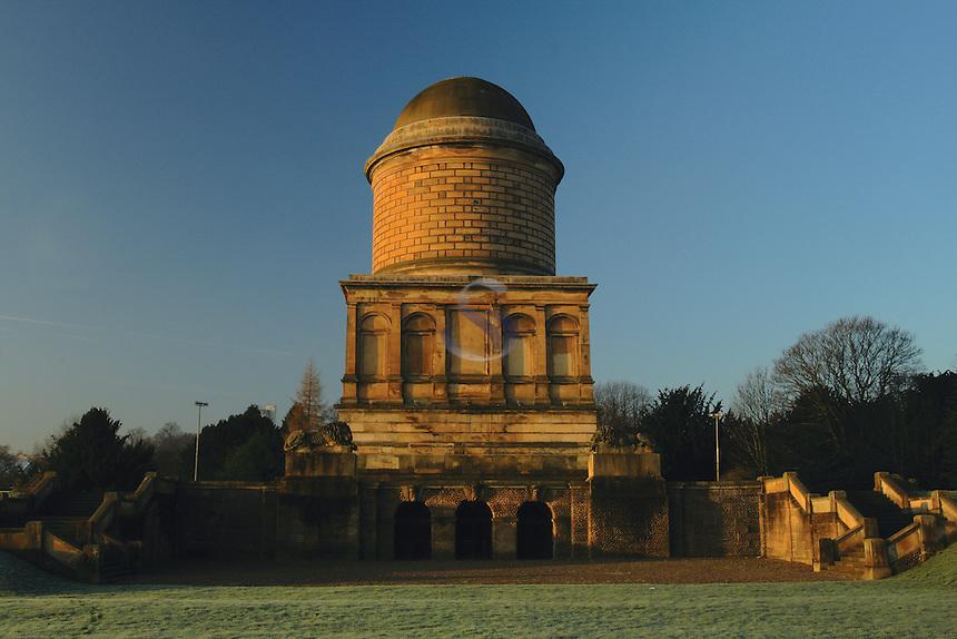 Hamilton Mausoleum, Hamilton, South Lanarkshire<br /> <br /> Copyright www.scottishhorizons.co.uk/Keith Fergus 2011 All Rights Reserved
