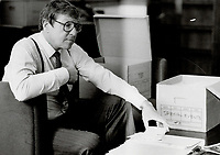1985 FILE PHOTO - ARCHIVES -<br /> <br /> <br /> <br /> 1985<br /> <br /> PHOTO :  Erin Comb - Toronto Star Archives - AQP