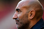 Coach Abelardo Fernandez of Deportivo Alaves in action  prior to the La Liga 2018-19 match between Atletico de Madrid and Deportivo Alaves at Wanda Metropolitano on December 08 2018 in Madrid, Spain. Photo by Diego Souto / Power Sport Images