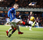 03.04.2019 Rangers v Hearts: Ryan Kent
