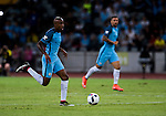 Manchester City midfielder Fabian Delph during their 2016 International Champions Cup China match at the Shenzhen Stadium on 28 July 2016 in Shenzhen, China. Photo by Marcio Machado / Power Sport Images