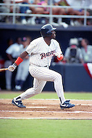 San Diego Padres outfielder Tony Gwynn during the Major League Baseball All-Star Game at Jack Murphy Stadium  in San Diego, California.  (MJA/Four Seam Images)