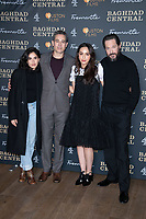 "Leem Lubany, Waleed Zuaiter, July Namir and Bertie Carvel<br /> arriving for the ""Baghdad Central"" screening at the BFI South Bank, London.<br /> <br /> ©Ash Knotek  D3548 16/01/2020"