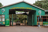 Tanzania. Ngorongoro Crater, Entrance to the Conservation Area.