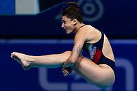 BERTOCCHI Elena ITA<br /> 3m Springboard Women Preliminary<br /> Diving<br /> Budapest  - Hungary  15/5/2021<br /> Duna Arena<br /> XXXV LEN European Aquatic Championships<br /> Photo Giorgio Perottino / Deepbluemedia / Insidefoto