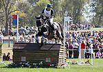 Jesper Sigfrid Martendal and Land Jimmy of Brazil compete in the cross country phase of the FEI  World Eventing Championship at the Alltech World Equestrian Games in Lexington, Kentucky.