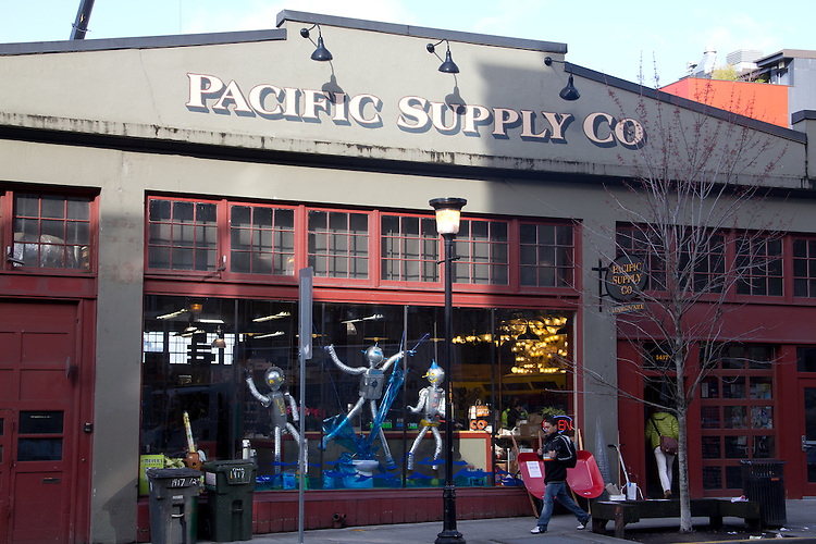 Seattle, Capitol Hill, Pacific Supply Company, new retail, shops, cityscape, neighborhoods,