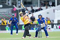 Natalie Sciver, Trent Rockets collects a maximum six runs over wide mid wicket during London Spirit Women vs Trent Rockets Women, The Hundred Cricket at Lord's Cricket Ground on 29th July 2021