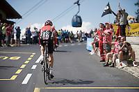 Lars Bak (DEN/Lotto-Soudal) <br /> <br /> stage 15 (iTT): Castelrotto-Alpe di Siusi 10.8km<br /> 99th Giro d'Italia 2016