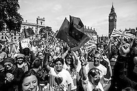 """""""London: Kiss The Hate Away! World Record of Kisses"""".<br /> <br /> London, March-July 2016. Reporting the EU Referendum 2016 (Campaign, result and outcomes) observed through the eyes (and the lenses) of an Italian freelance photojournalist (UK and IFJ Press Cards holder) based in the British Capital with no """"press accreditation"""" and no timetable of the main political parties' events in support of the RemaIN Campaign or the Leave the EU Campaign.<br /> On the 23rd of June 2016 the British people voted in the EU Referendum... (Please find the caption on PDF at the beginning of the Reportage).<br /> <br /> For more photos and information about this event please click here: http://lucaneve.photoshelter.com/gallery/19-06-2016-London-Kiss-The-Hate-Away-World-Record-of-Kisses/G0000Ttc.jlA9mnQ/C0000GPpTqAGd2Gg<br /> <br /> For more information about the result please click here: http://www.bbc.co.uk/news/politics/eu_referendum/results"""