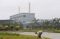 Foshan Electrical and Lighting Co., Ltd, Guangdong, Gaoming District, Foshan China. The factory, in which German company Osram has invested, has over 100 workers poisoned with mercury vapor while making low energy lightbulbs.<br />