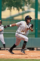 Luis Solano of the Gulf Coast League Pirates at the ESPN Wide World of Sports Complex in Orlando, Florida July 31, 2010. Photo By Scott Jontes/Four Seam Images