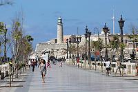 Habana, auf Paseo de Marti (Prado), Castello de la Punta, Cuba