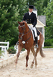 10 July 2009: Colin Davidson riding Draco during the dressage phase of the CIC 3* Maui Jim Horse Trials at Lamplight Equestrian Center in Wayne, Illinois.