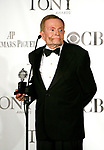 Jerry Herman in the Press Room at the 63rd Annual Antoinette Perry Tony Awards at Radio City Music Hall in New York City on June 7, 2009.