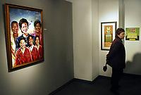 BMO Groupe financier a organisé un événement aujourd'hui dans le but de présenter l'affiche du Mois de l'histoire des Noirs 2007, conçue par l'artiste torontois Robert Small, afin de rendre hommage aux efforts et aux réalisations des afro-canadiens. (Groupe CNW/BMO Groupe Financier)