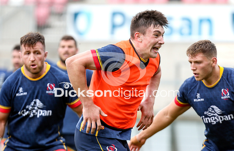 Tuesday 28th September 2021<br /> <br /> Harry Sheridan during Ulster Rugby training at Kingspan Stadium, Ravenhill Park, Belfast, Northern Ireland. Photo by John Dickson/Dicksondigital