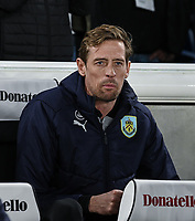Burnley Peter Crouch<br /> <br /> Photographer David Horton/CameraSport<br /> <br /> The Premier League - Brighton and Hove Albion v Burnley - Saturday 9th February 2019 - The Amex Stadium - Brighton<br /> <br /> World Copyright © 2019 CameraSport. All rights reserved. 43 Linden Ave. Countesthorpe. Leicester. England. LE8 5PG - Tel: +44 (0) 116 277 4147 - admin@camerasport.com - www.camerasport.com