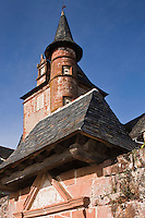 Europe/France/Limousin/19/Corrèze/Collonges-la-Rouge : Le Château de Benges (1560)