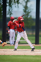 GCL Nationals Viandel Pena (41) at bat during a Gulf Coast League game against the GCL Astros on August 9, 2019 at FITTEAM Ballpark of the Palm Beaches training complex in Palm Beach, Florida.  GCL Nationals defeated the GCL Astros 8-2.  (Mike Janes/Four Seam Images)