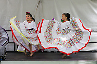 Grupo Folklorico Citlali, Mexican Dance Group, NW Folklife Festival, Seattle, WA, USA.