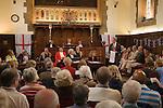 Court of Arraye. Lichfield Greenhill Bower. Interior The Guildhall. Lichfield Staffordshire
