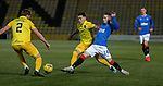 03.03.2021 Livingston v Rangers: Ryan Kent and Josh Mullin