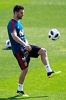 Spain's Nacho Fernandez during training session. May 31,2018.(ALTERPHOTOS/Acero) /NortePhoto.com