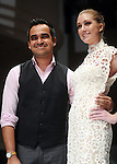 Designer Bibhu Mohapatra after his show at the fourth night of Fashion Houston at the Wortham Theater Wednesday Oct. 12,2011.(Dave Rossman/For the Chronicle)