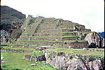 View of the archaeological site of Macchu Picchu, January 1980. Photo by Heriberto Rodriguez