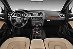 Straight dashboard view of a 2011 Audi A4 Allroad Quattro 2.0l TDI 5 Door Wagon