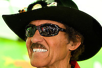 NASCAR legend 'The King' Richard Petty during Food Lion Speed Street in uptown Charlotte, NC.