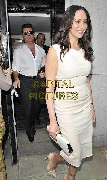 LONDON, ENGLAND - JUNE 02: Simon Cowell & Lauren Silverman attend the Health Lottery VIP tea party, The Savoy Hotel, The Strand, on Monday June 02, 2014 in London, England, UK.<br /> CAP/CAN<br /> ©Can Nguyen/Capital Pictures