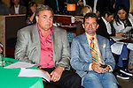 New York, NY - June 08:  Kent Desormeaux and connections of Exxagerator at the post position draw at Rockefeller Center on JUNE 8, 2016, in New York, NY. (Photo by Sue Kawczynski/Eclipse Sportswire/Getty Images)