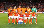 Nederland, Amsterdam, 3 september 2015<br /> Kwalificatiewedstrijd EK 2016<br /> Nederland-IJsland<br /> Teamfoto van het Nederlands Elftal.