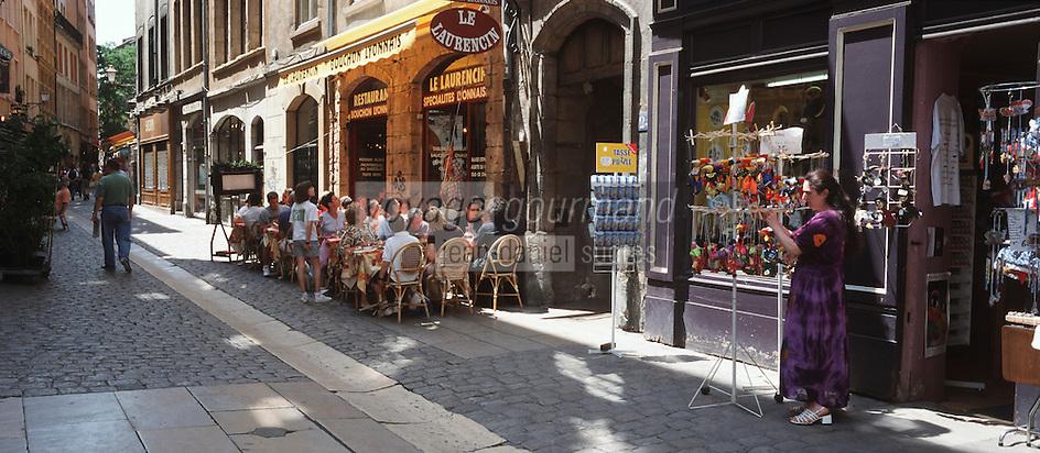 Europe/France/Rhône-Alpes/69/Rhone/Lyon: Vieux Lyon - rue Saint Jean