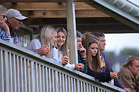 Fans watch the Central League football match between Miramar Rangers and Lower Hutt AFC at David Farrington Park in Wellington, New Zealand on Saturday, 10 April 2021. Photo: Dave Lintott / lintottphoto.co.nz